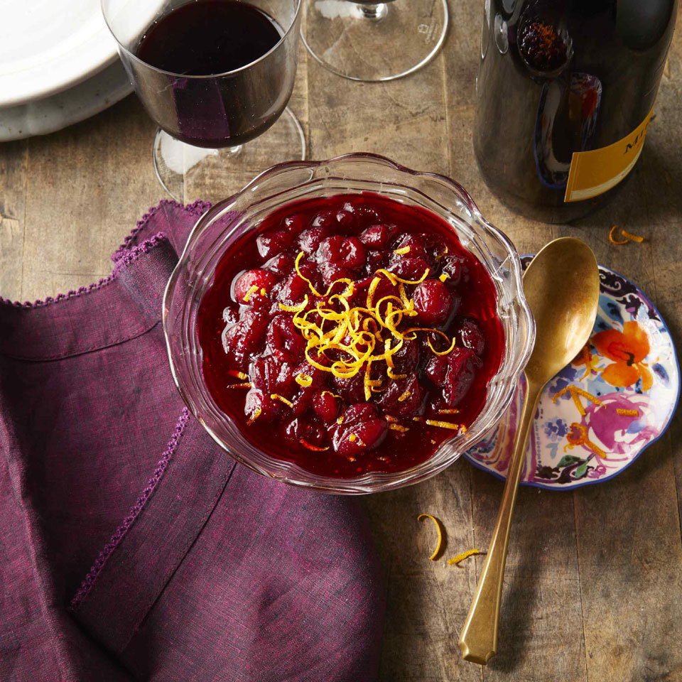 Red Wine Cranberry Sauce Carolyn Casner