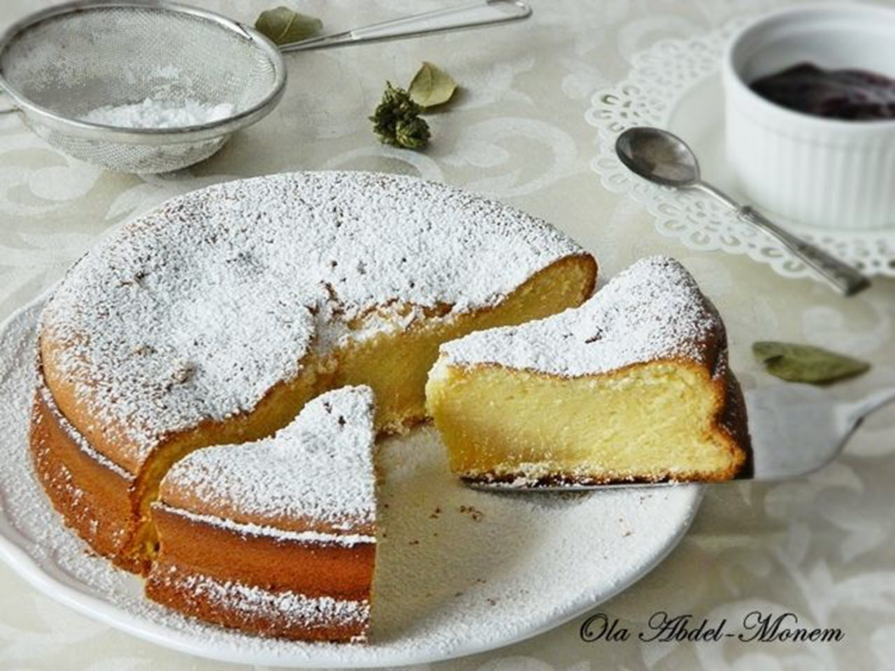 Easy Condensed Milk Cake Recipe