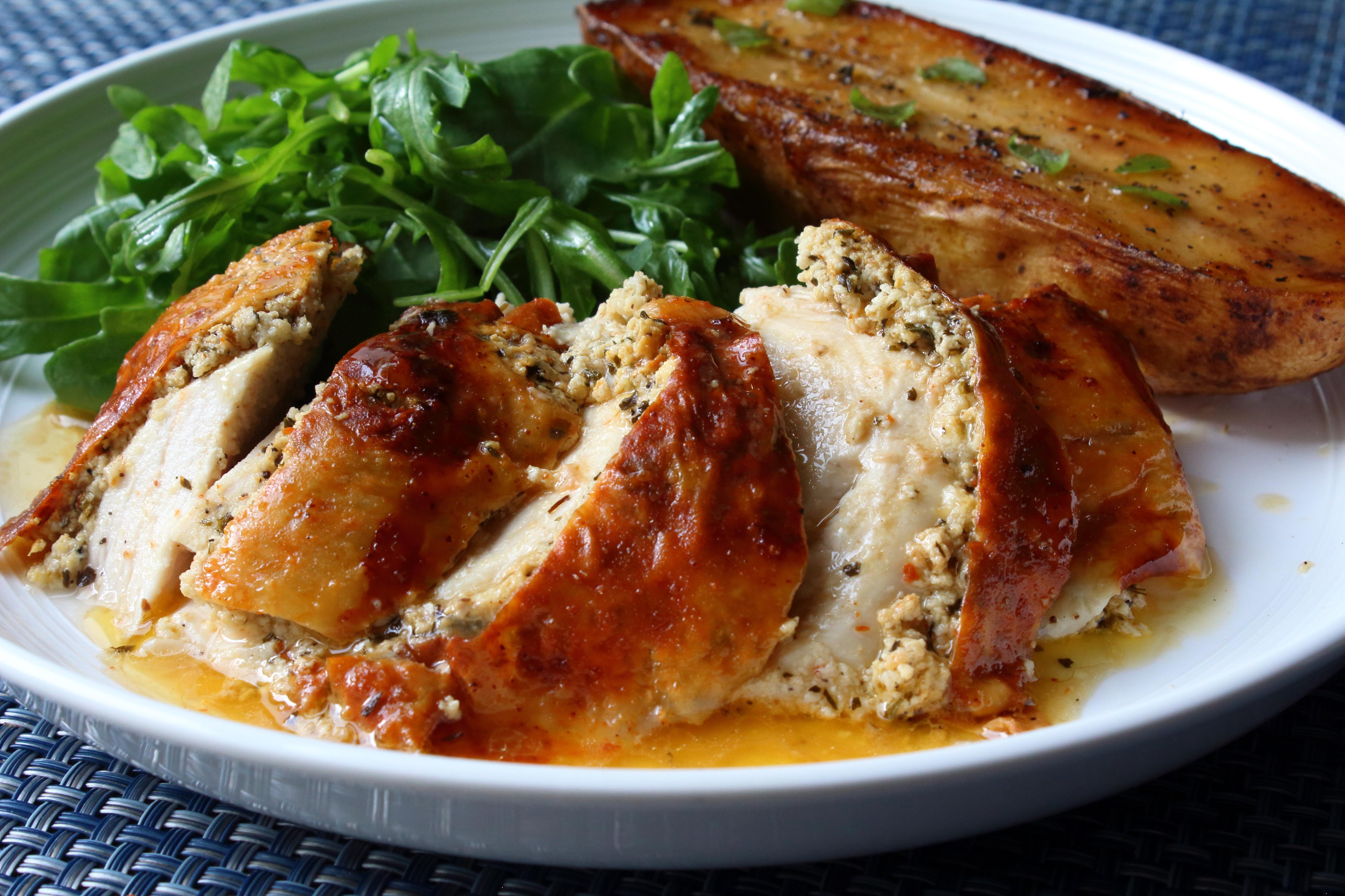 Feta Roast Chicken Chef John