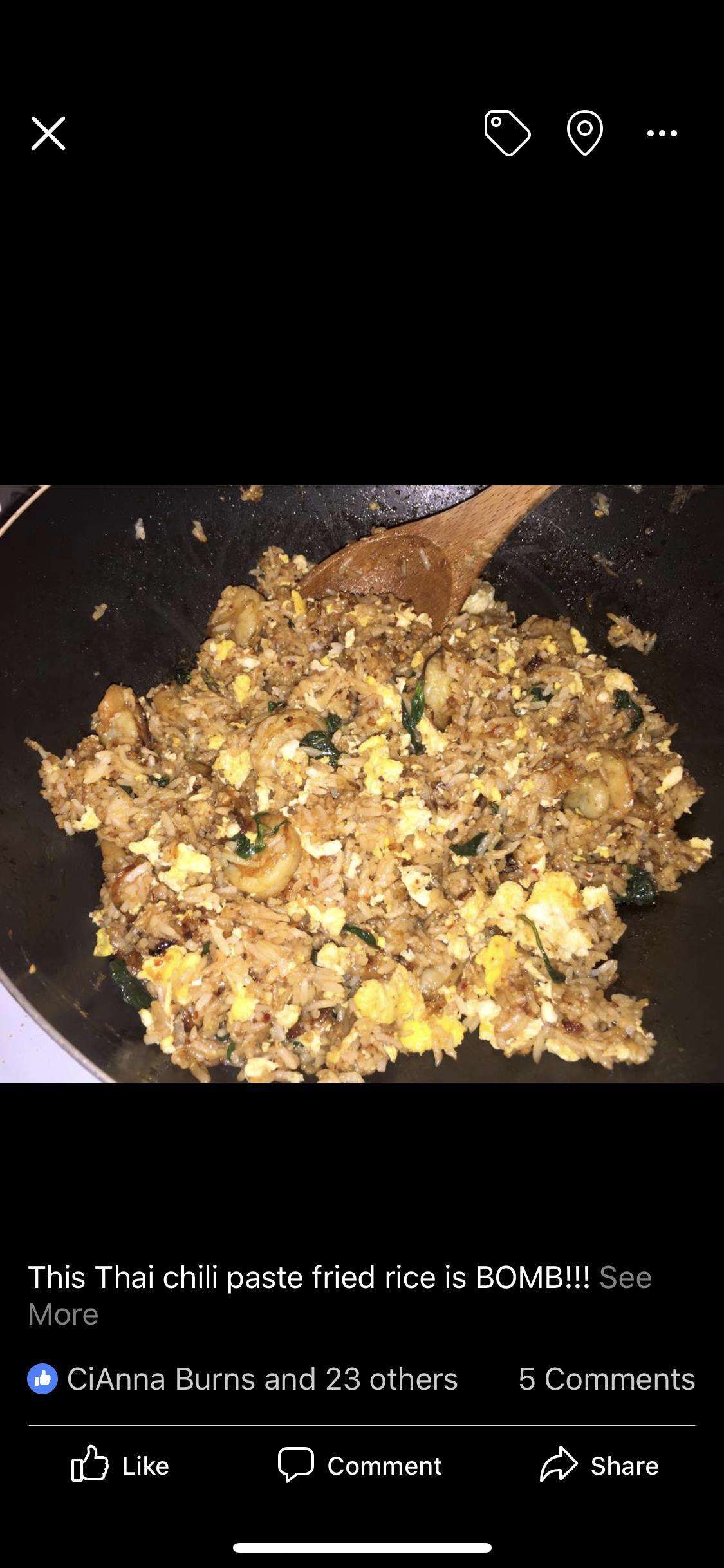Thai Spicy Basil Chicken Fried Rice Regina Martinez