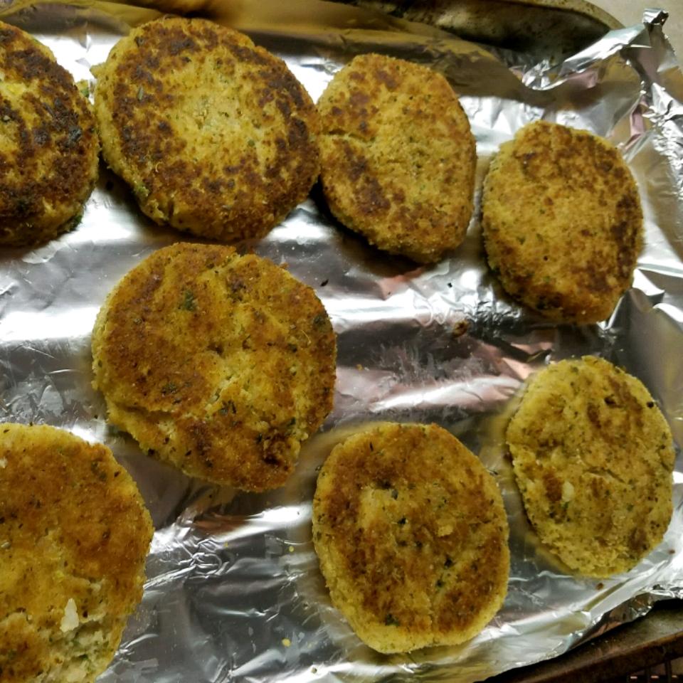Pan Fried Chicken Croquettes fruitdog