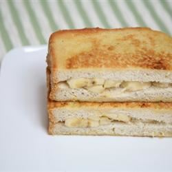 Banana Stuffed French Toast Sherbg