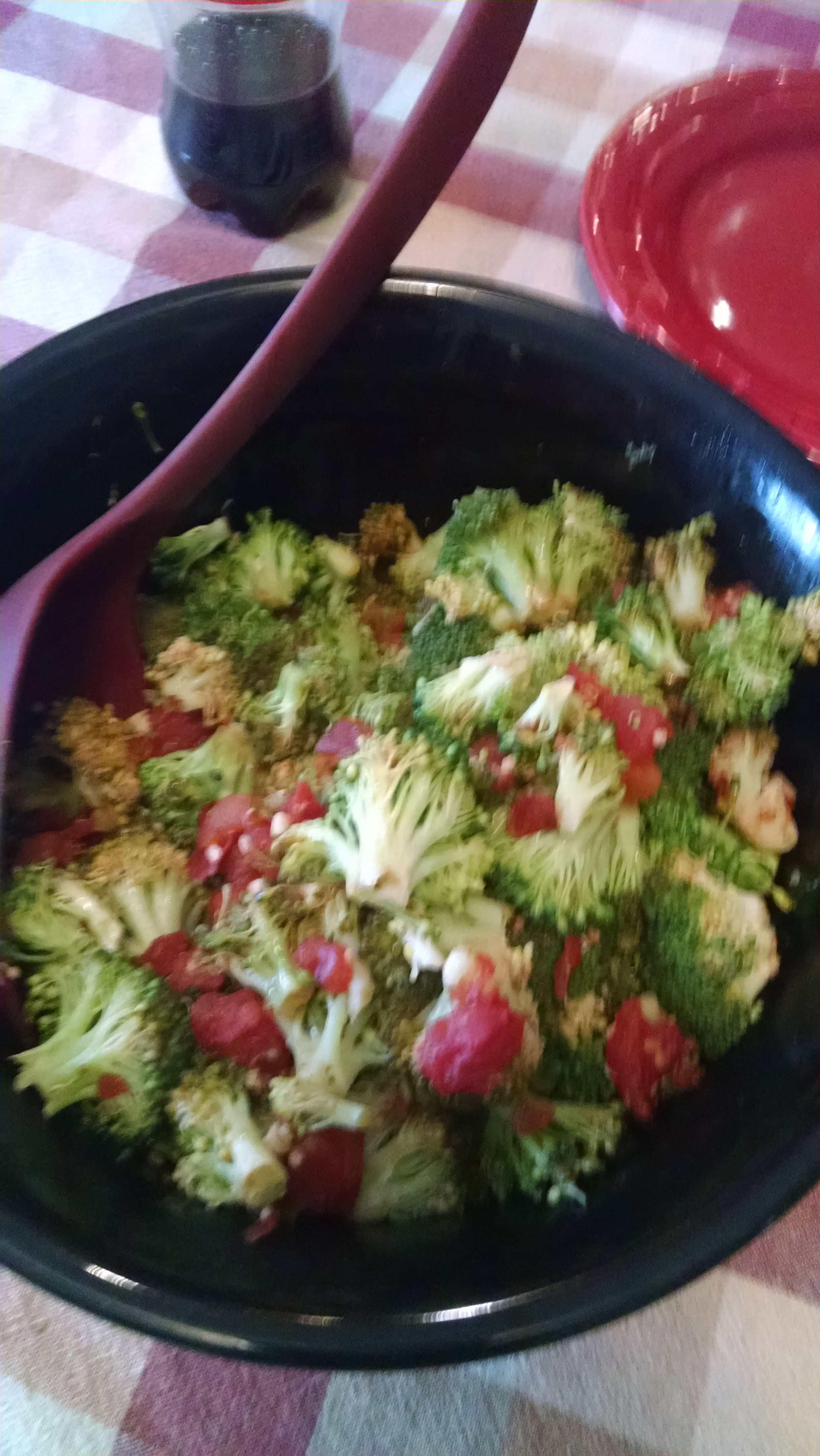Awesome Broccoli Marinara