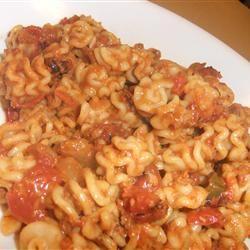 Rigatoni Pasta with Chorizo Julie Nonyas