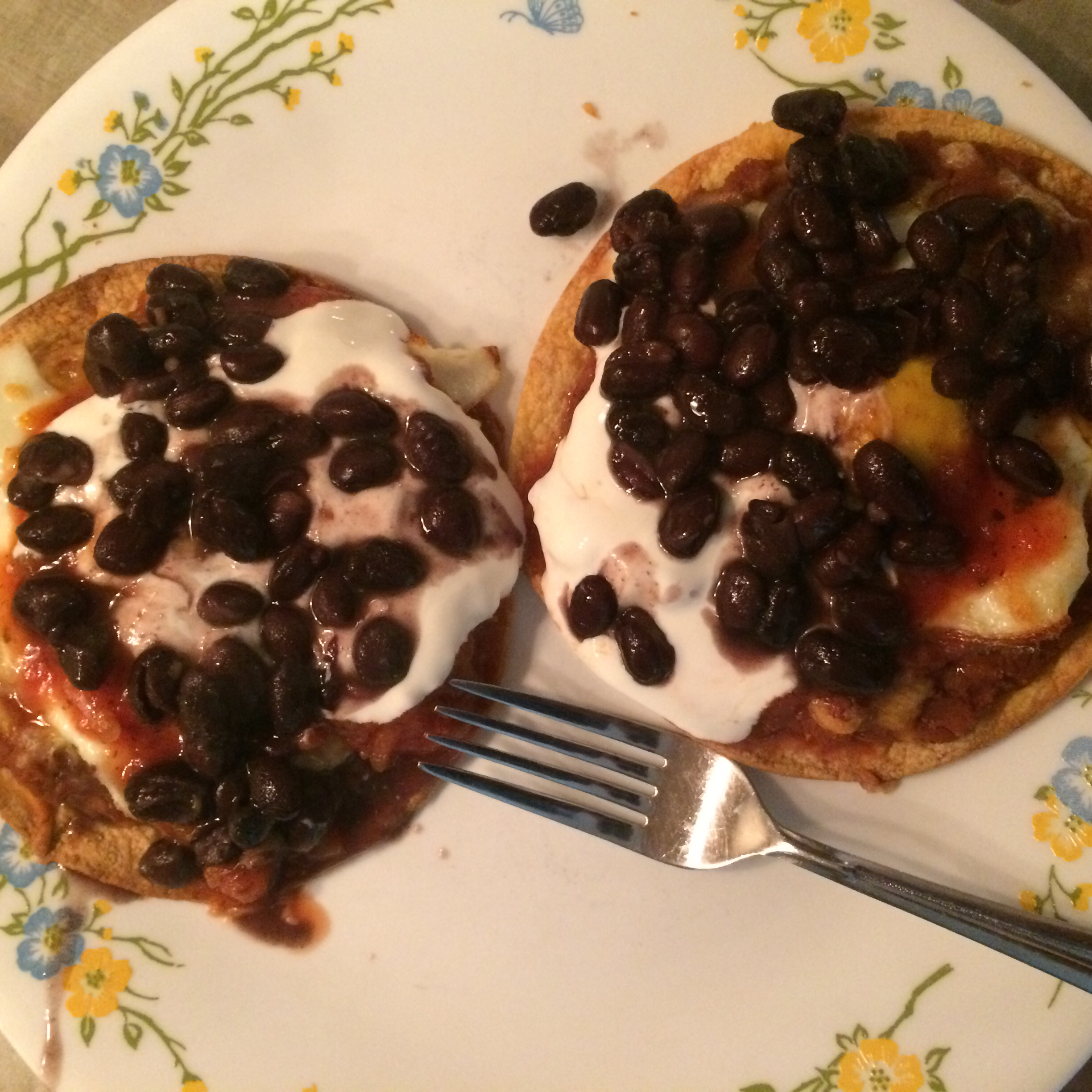 Quick and Easy Huevos Rancheros Nicole K
