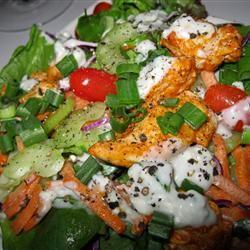 Hot 'n' Spicy Buffalo Chicken Salad