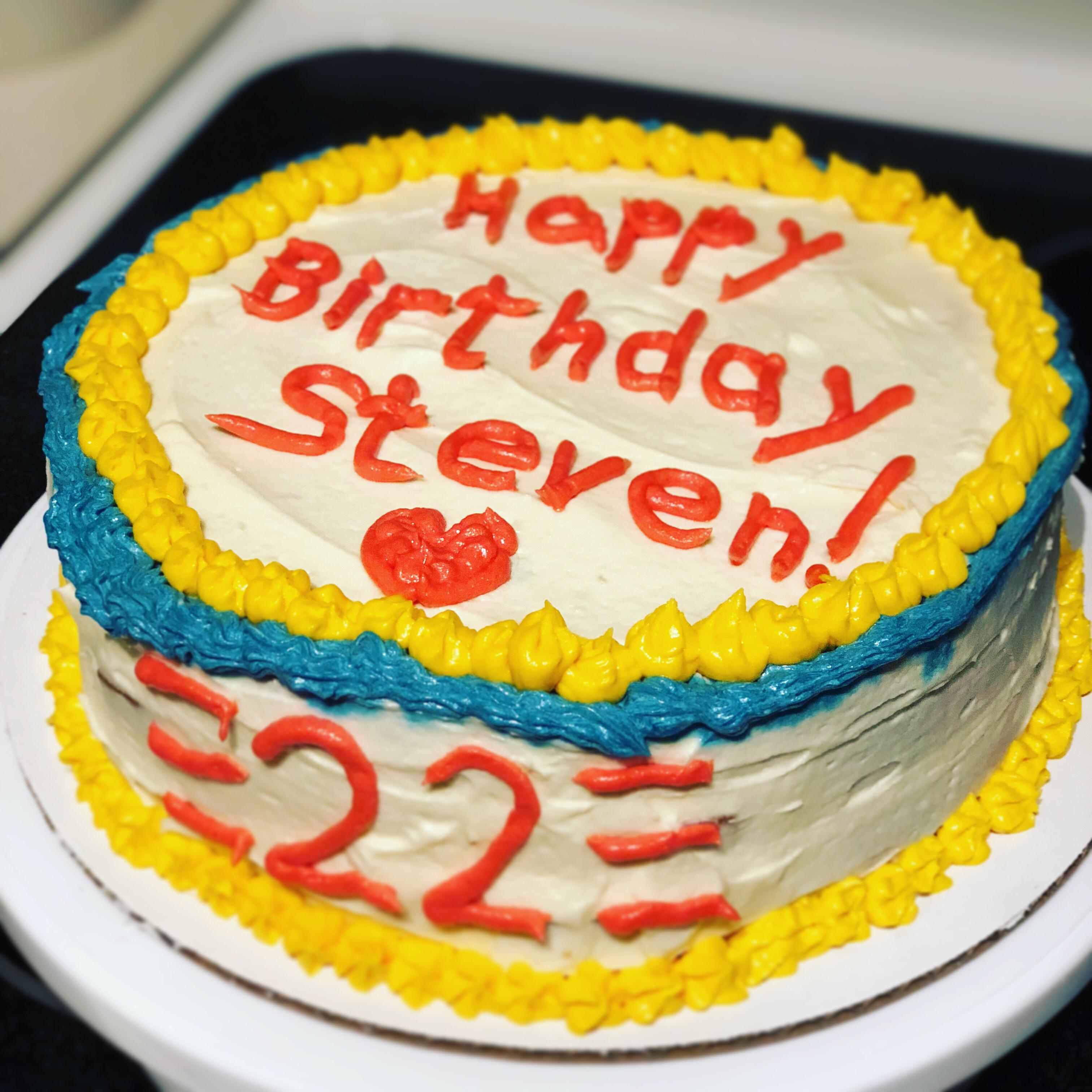 Groovy Happy Birthday Cake Allrecipes Funny Birthday Cards Online Inifofree Goldxyz