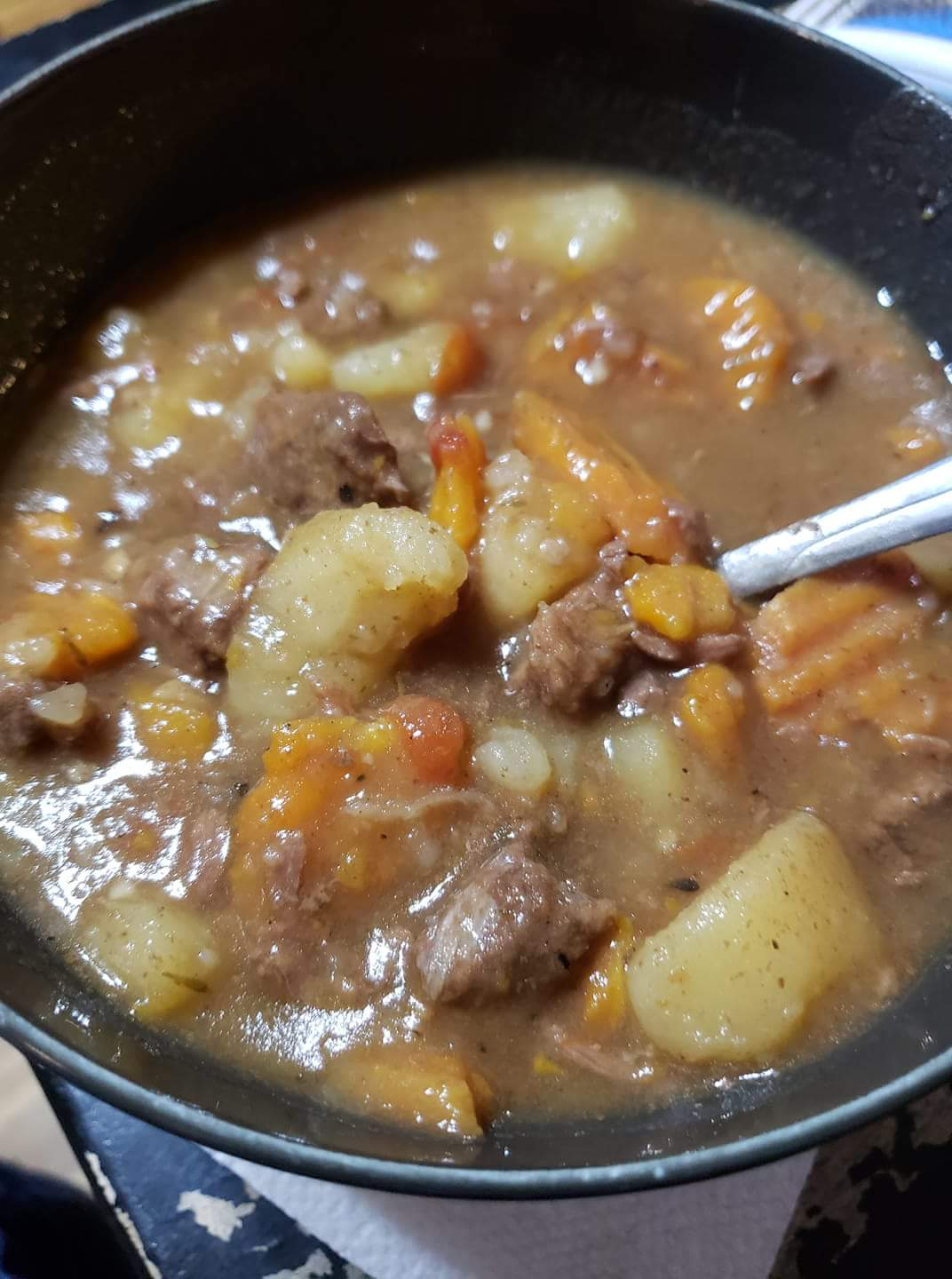 Instant Pot(R) Stew Using Frozen Meat