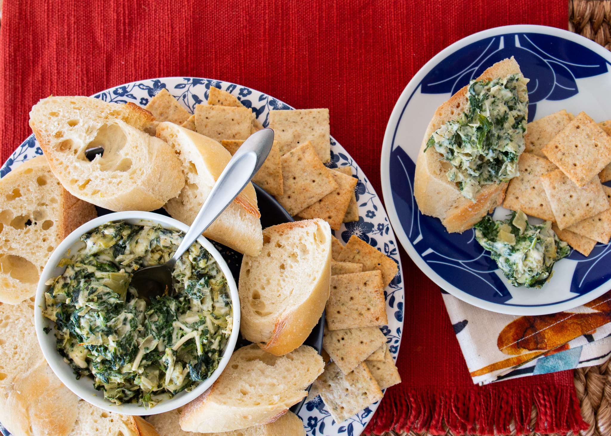 Vegan Hot Artichoke and Spinach Dip