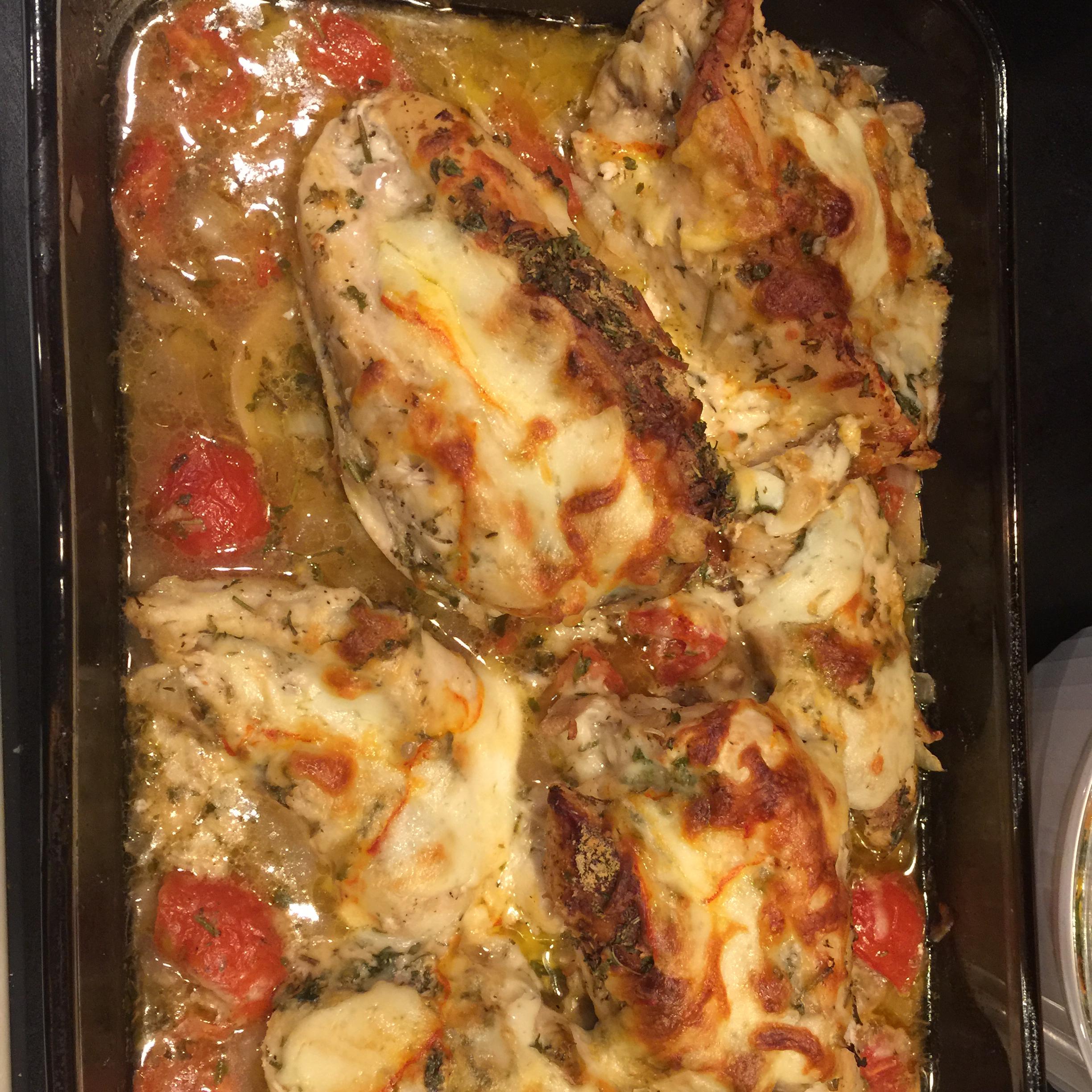 Provencal Chicken Casserole Kevin Duchscherer