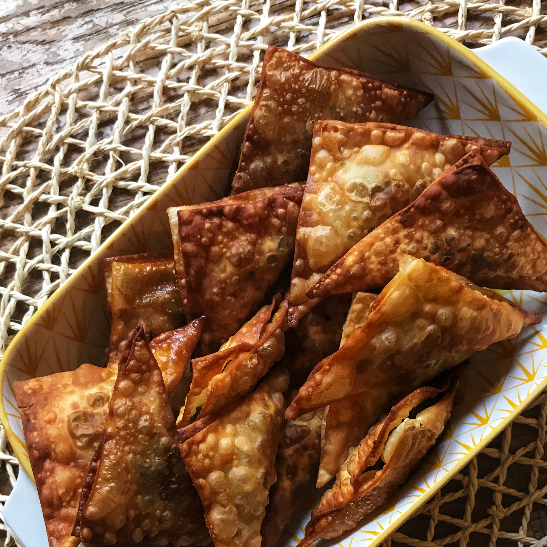 Traditional Beef Samosas