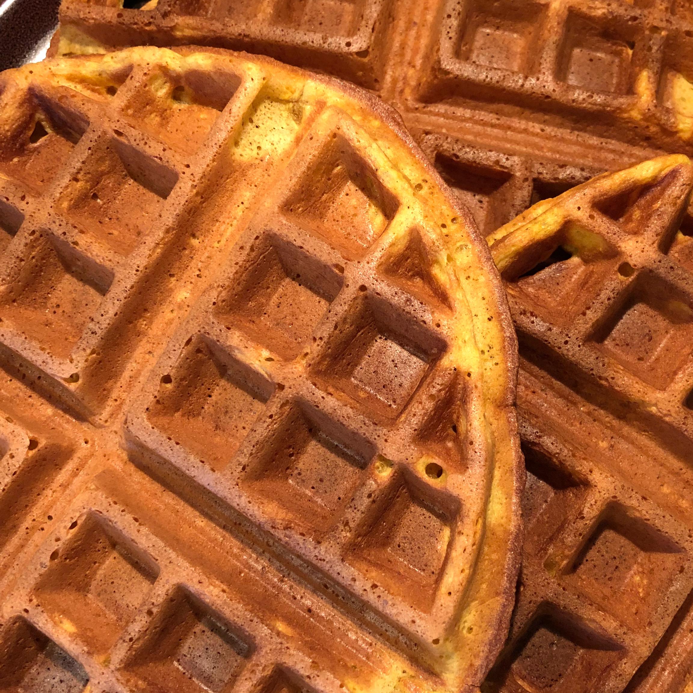 Perfect Pumpkin Spice Waffles_image