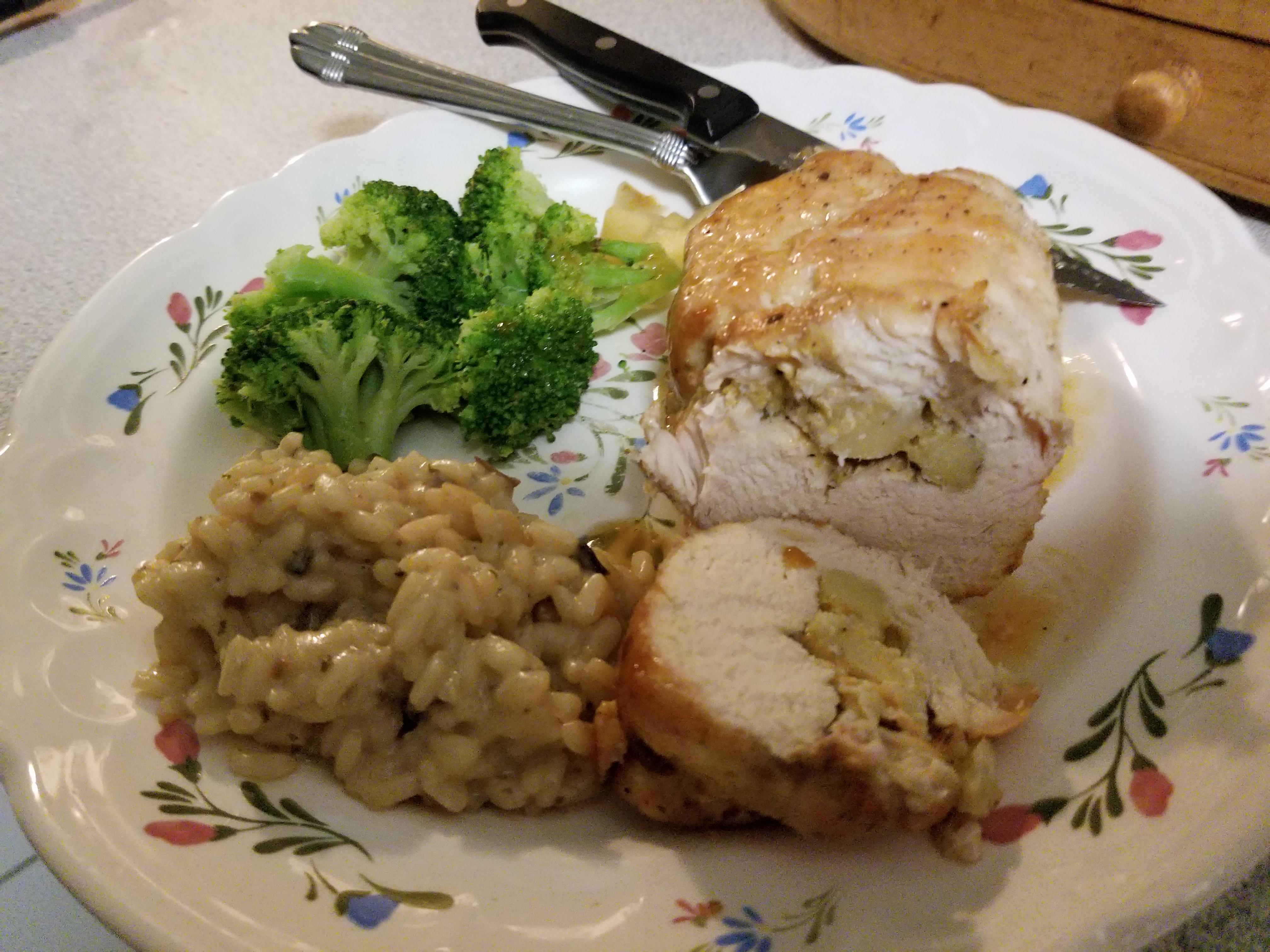 Apple Stuffed Chicken Breast Julia Renshaw Franklin