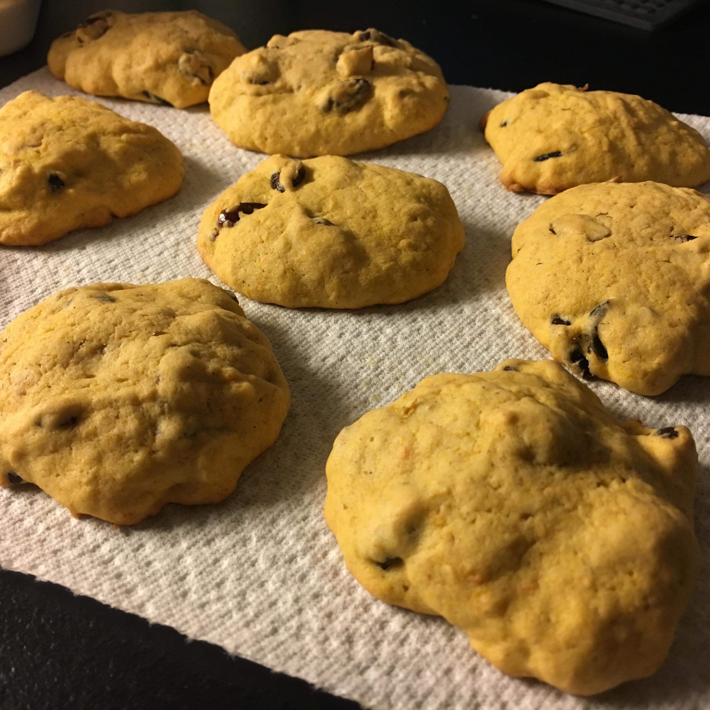 Cranberry-Pumpkin Cookies