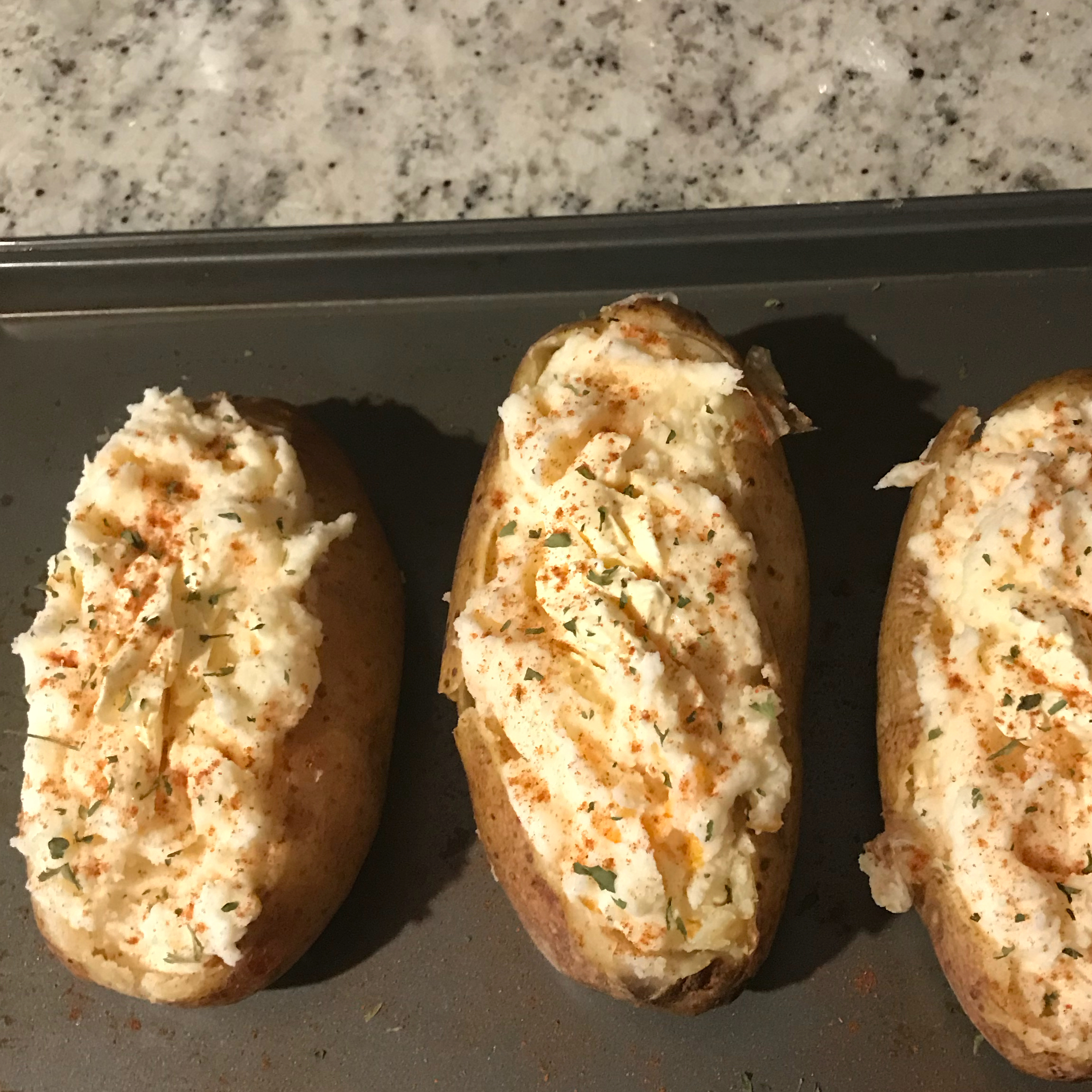 Creamy Twice-Baked Potatoes Jackson Christie