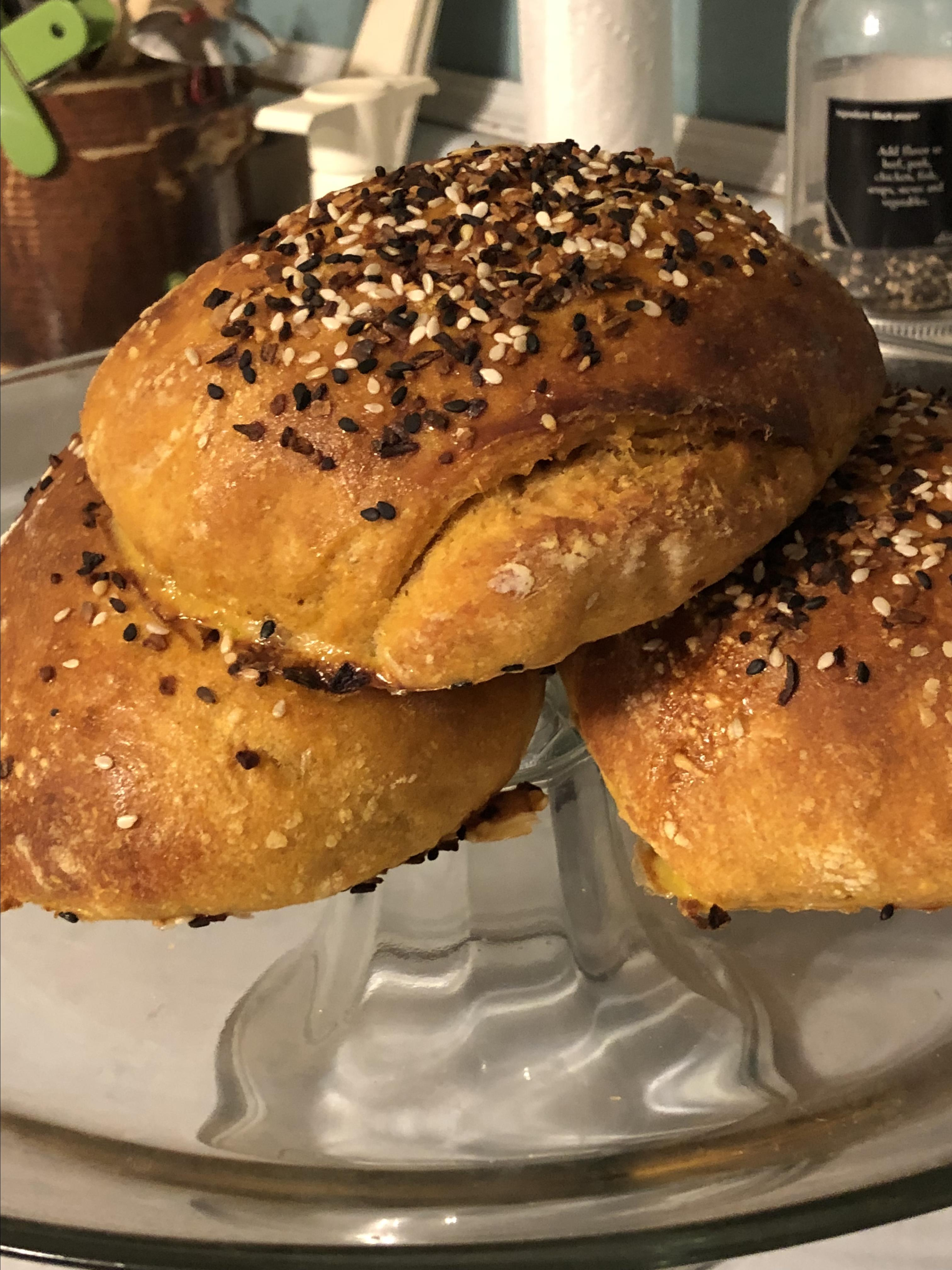 Sweet Potato Buns Tracy Hall-Ingram