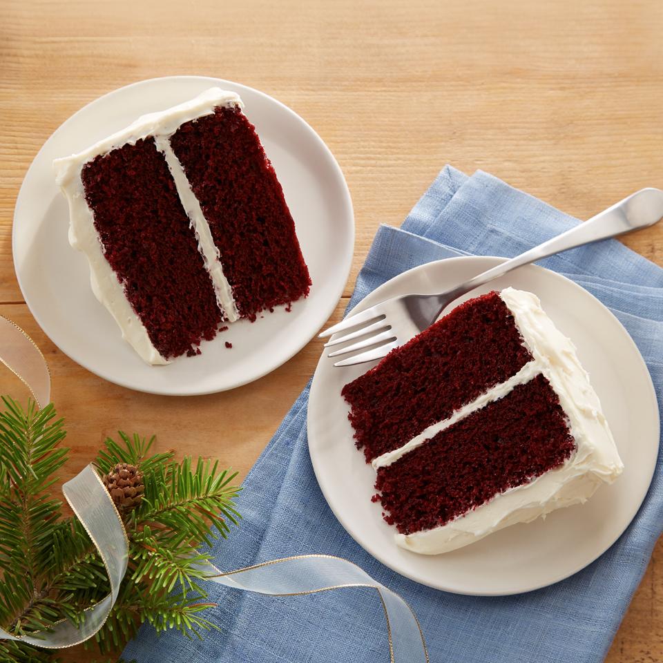 Classic Waldorf Red Cake image