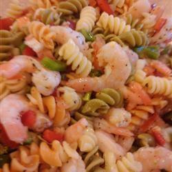 Shrimp Pasta Salad with Italian Dressing_image