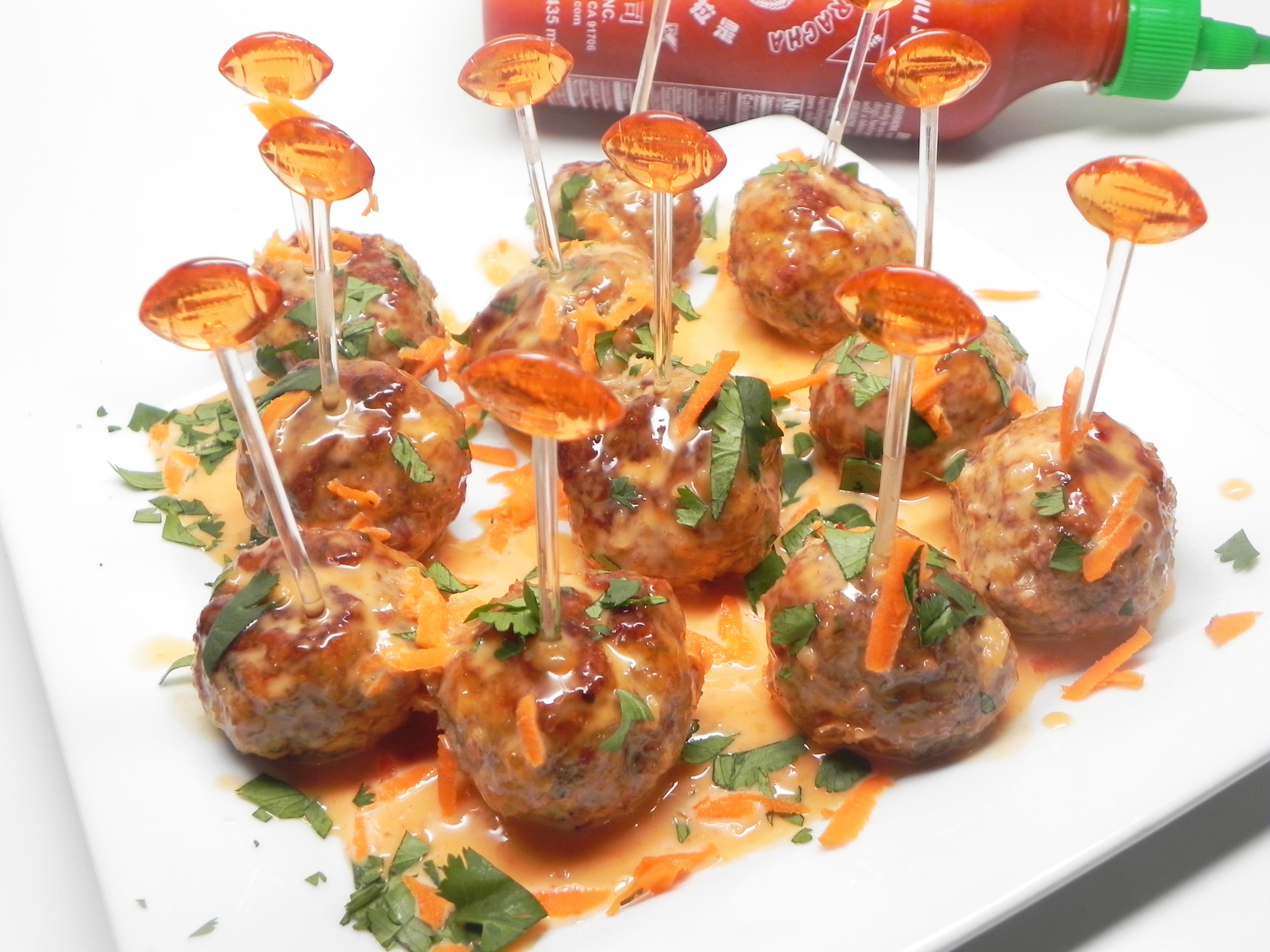 Bang Bang Sriracha Cocktail Meatballs Soup Loving Nicole