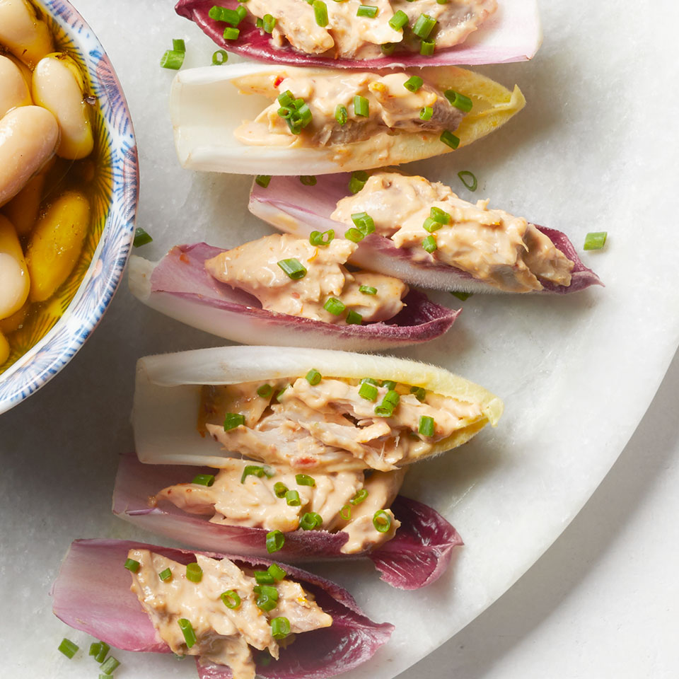 Harissa Mackerel & Endive Recipe