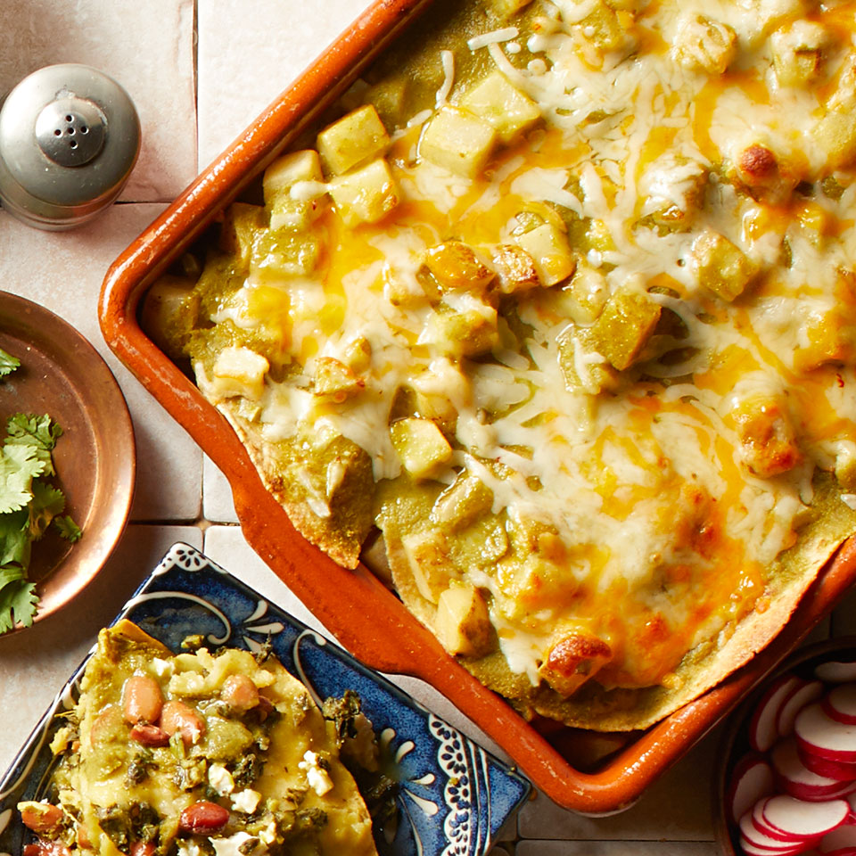 Potato Enchiladas Breana Killeen
