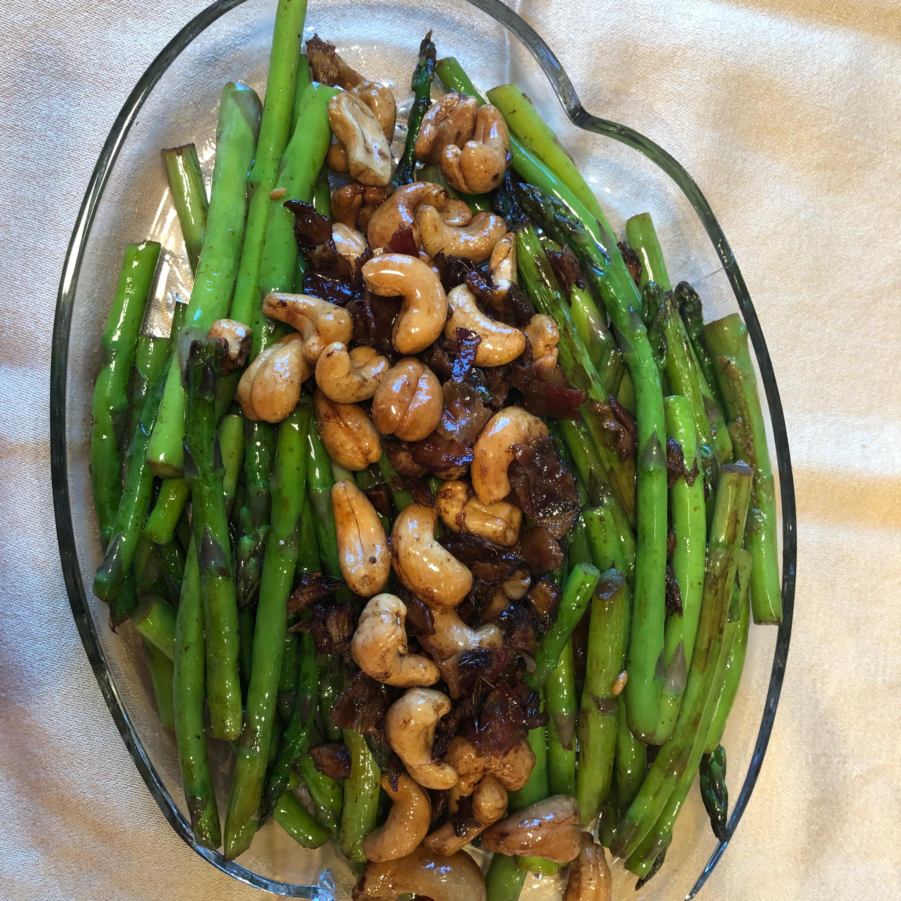 Asparagus and Cashews