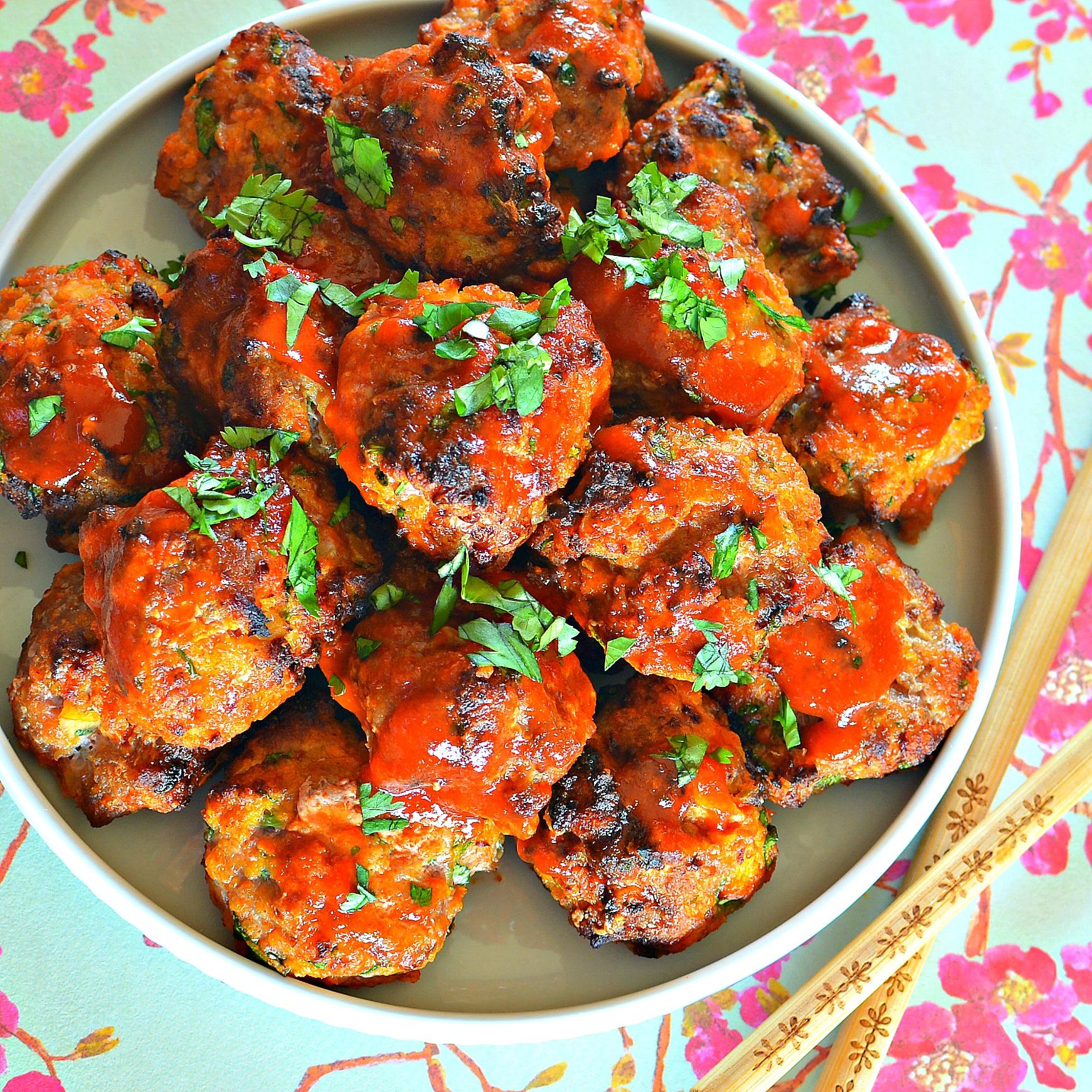 Chicken Sriracha Meatballs bd.weld