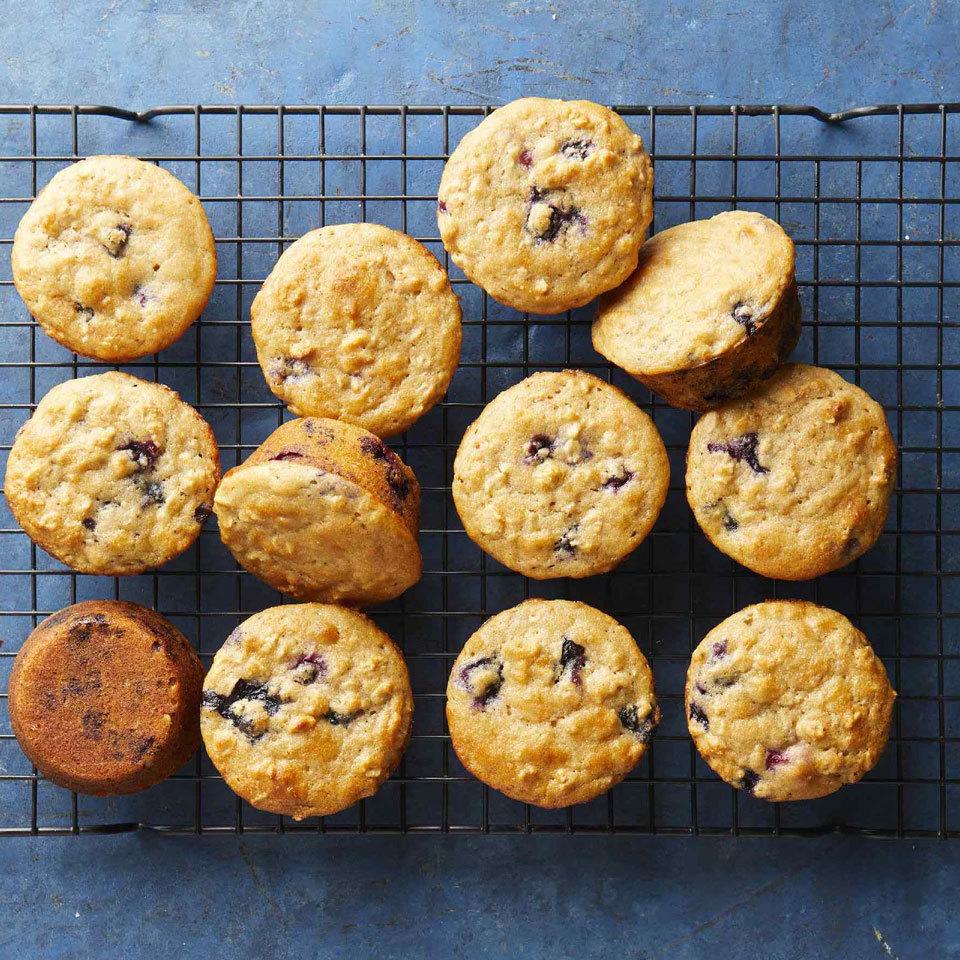 Healthy Blueberry Muffins Carolyn Casner
