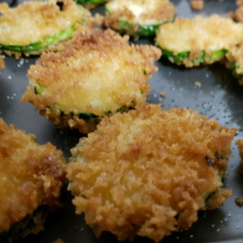 Easy Fried Zucchini