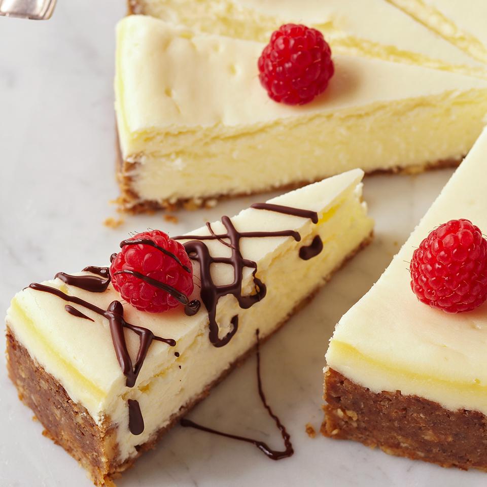 Hazelnut Crusted Mascarpone Cheesecake Diabetic Living Magazine