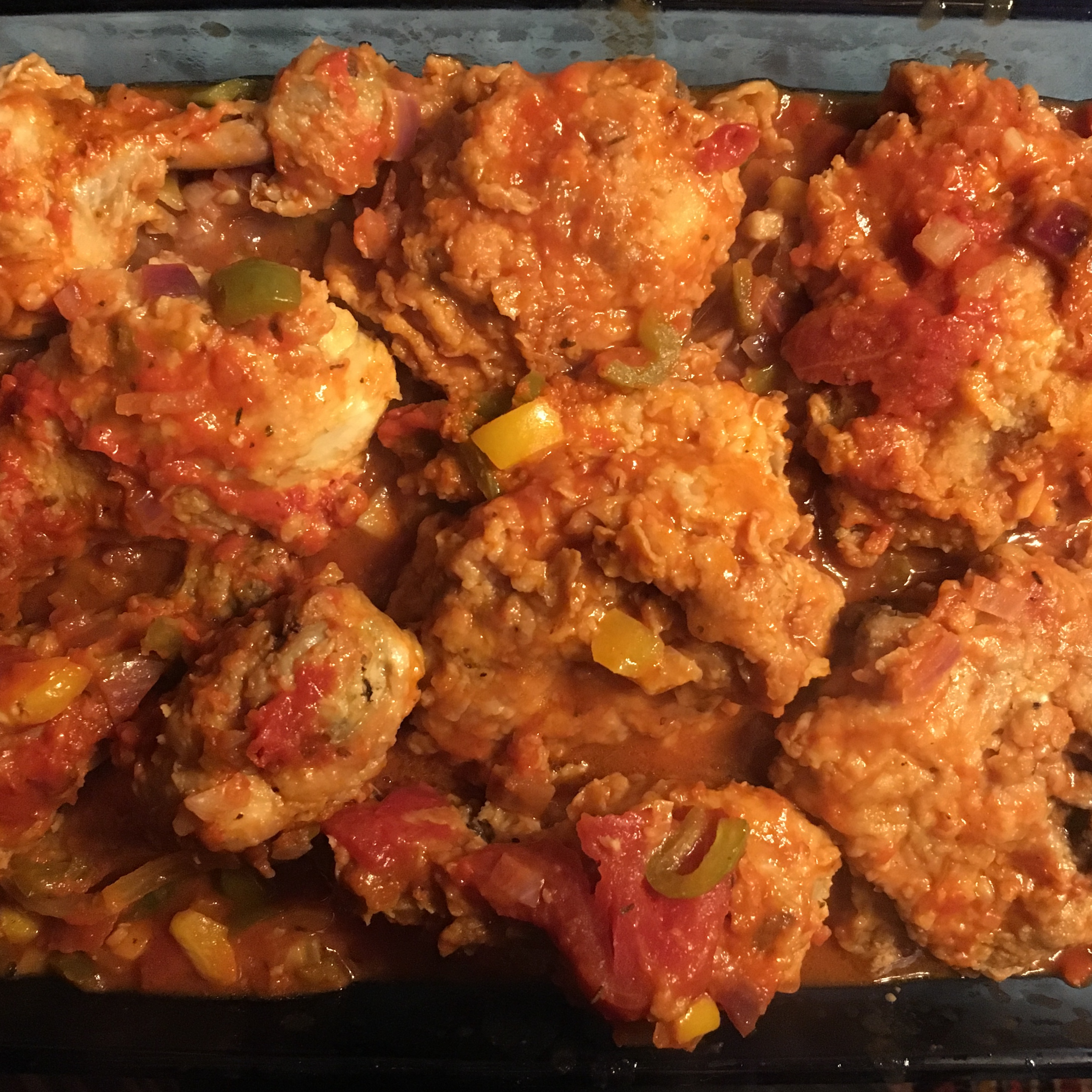 "Mom's Chicken Cacciatore Mark""Memphis""Bagley"