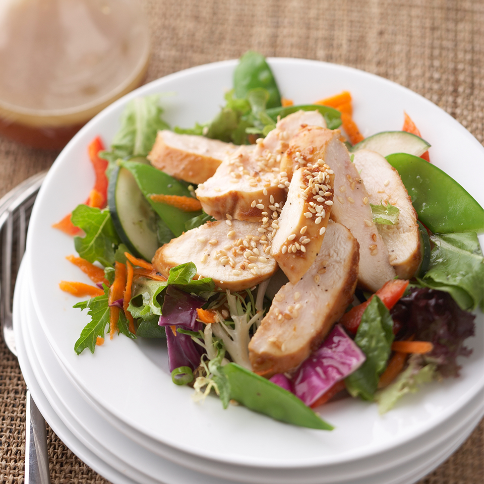 Asian-Inspired Chicken Salad Diabetic Living Magazine