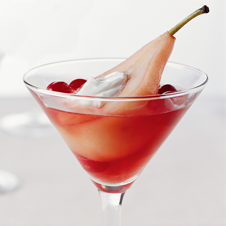 Cranberry Poached Pears Diabetic Living Magazine