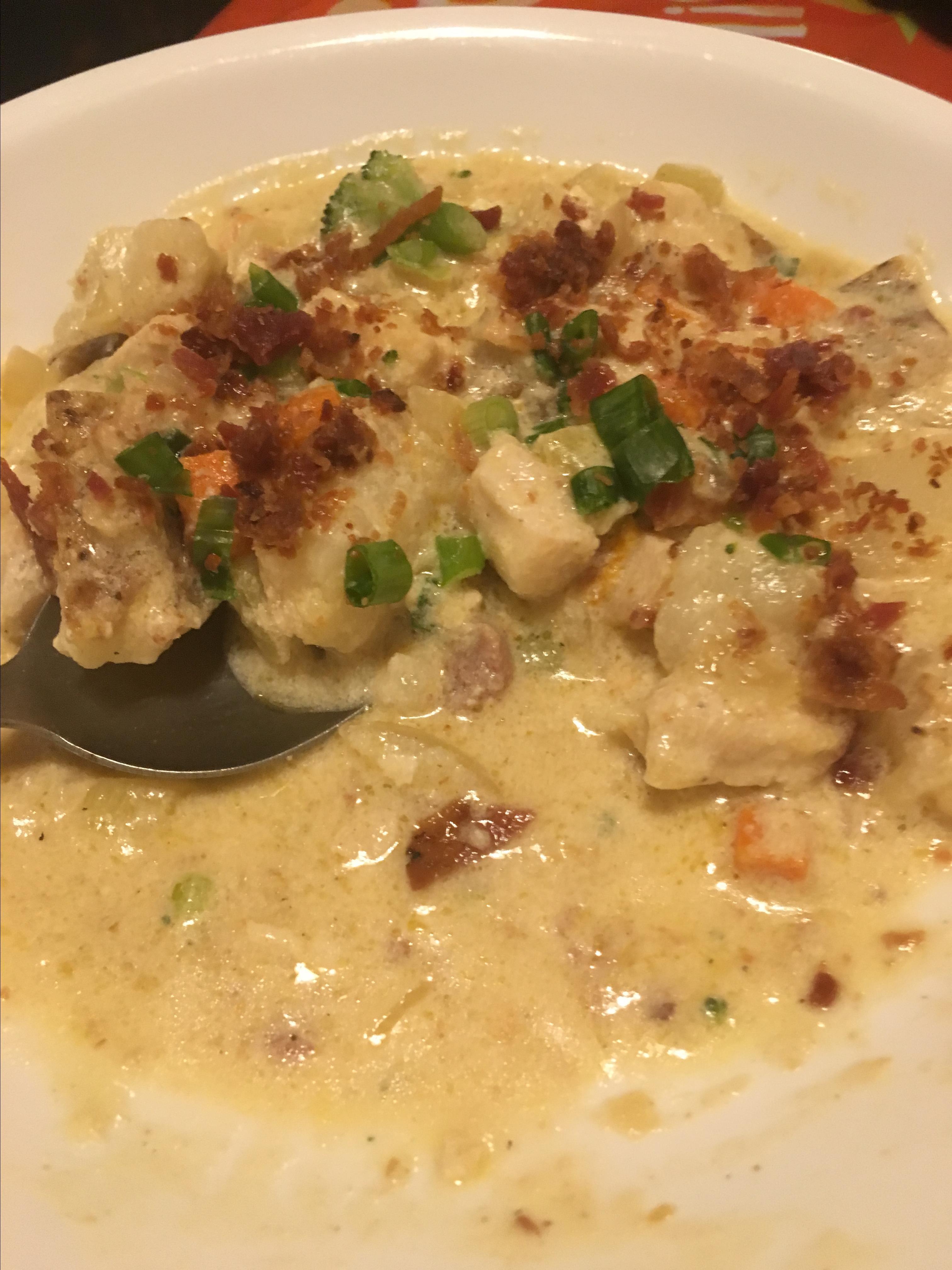 Loaded Chicken Potato Soup Audrey McCrone