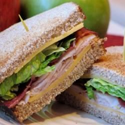 Amy's Triple Decker Turkey Bacon Sandwich