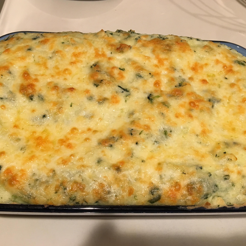 Potato Spinach Casserole sbisio