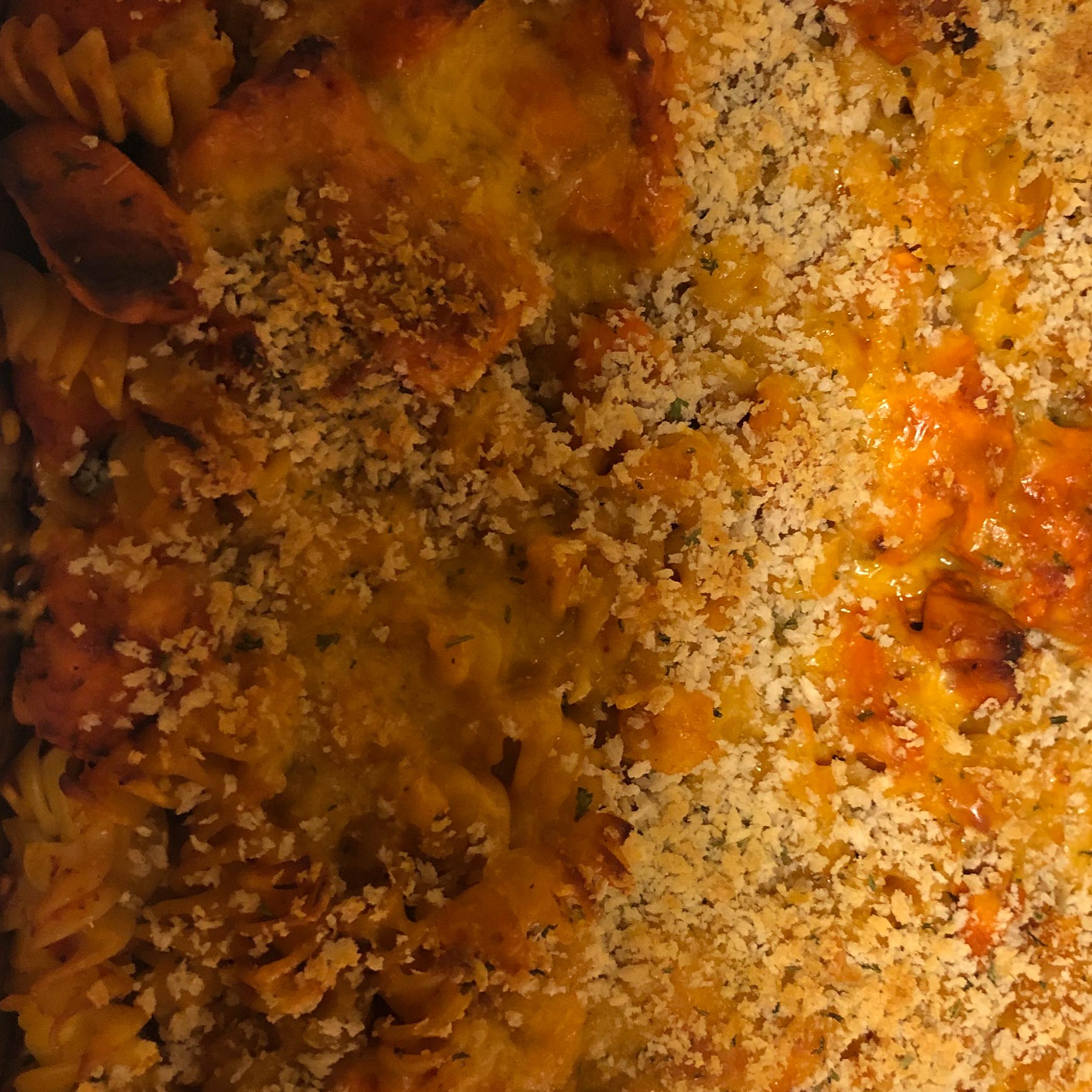 Chicken Parmesan Casserole Jazmin