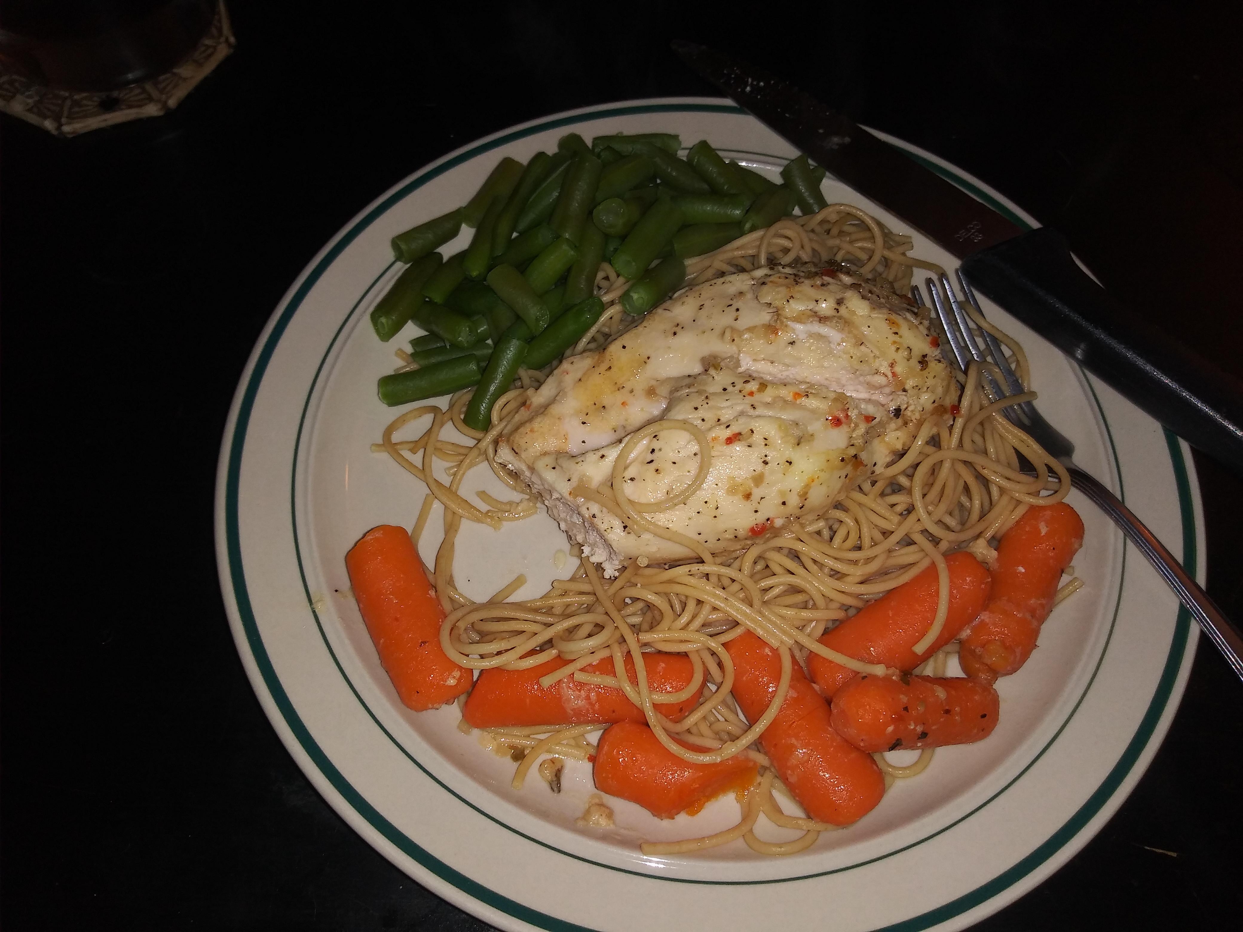Baked Italian Chicken Dinner Katie Busard