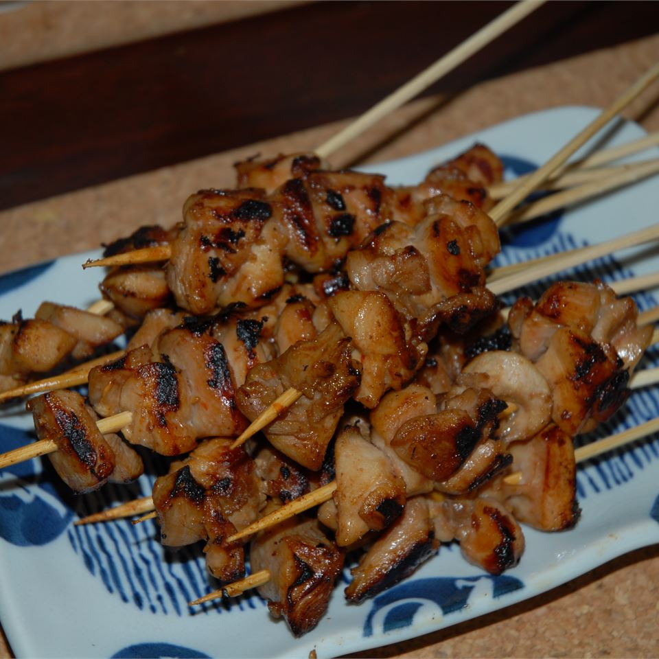 Chicken Satay with Homemade Peanut Sauce