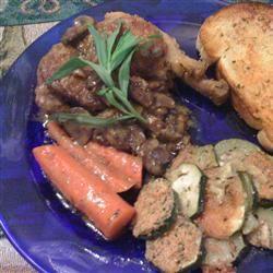 Petite Blanquette de Poulet a l'Estragon (Tarragon Chicken) thedailygourmet