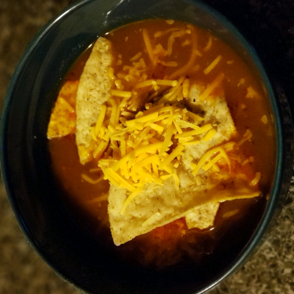 Quick and Easy Chicken Tortilla Soup R.C. Carter