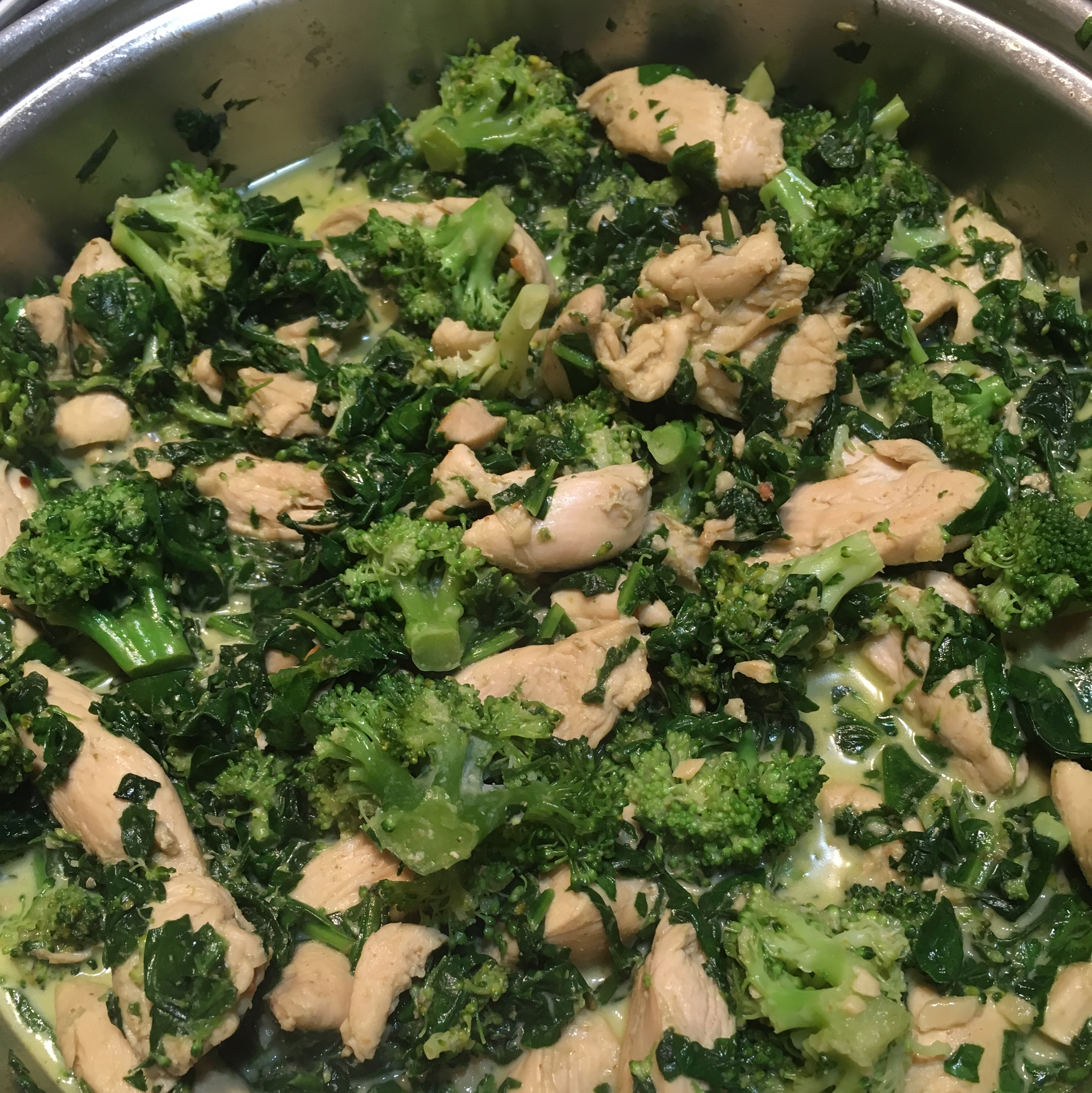 Curry-Style Chicken and Spinach jreid1965