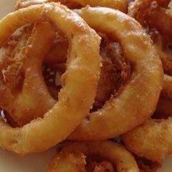 Beer-Batter Onion Rings margie c.