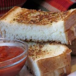 Italian Grilled Cheese Sandwiches mominml