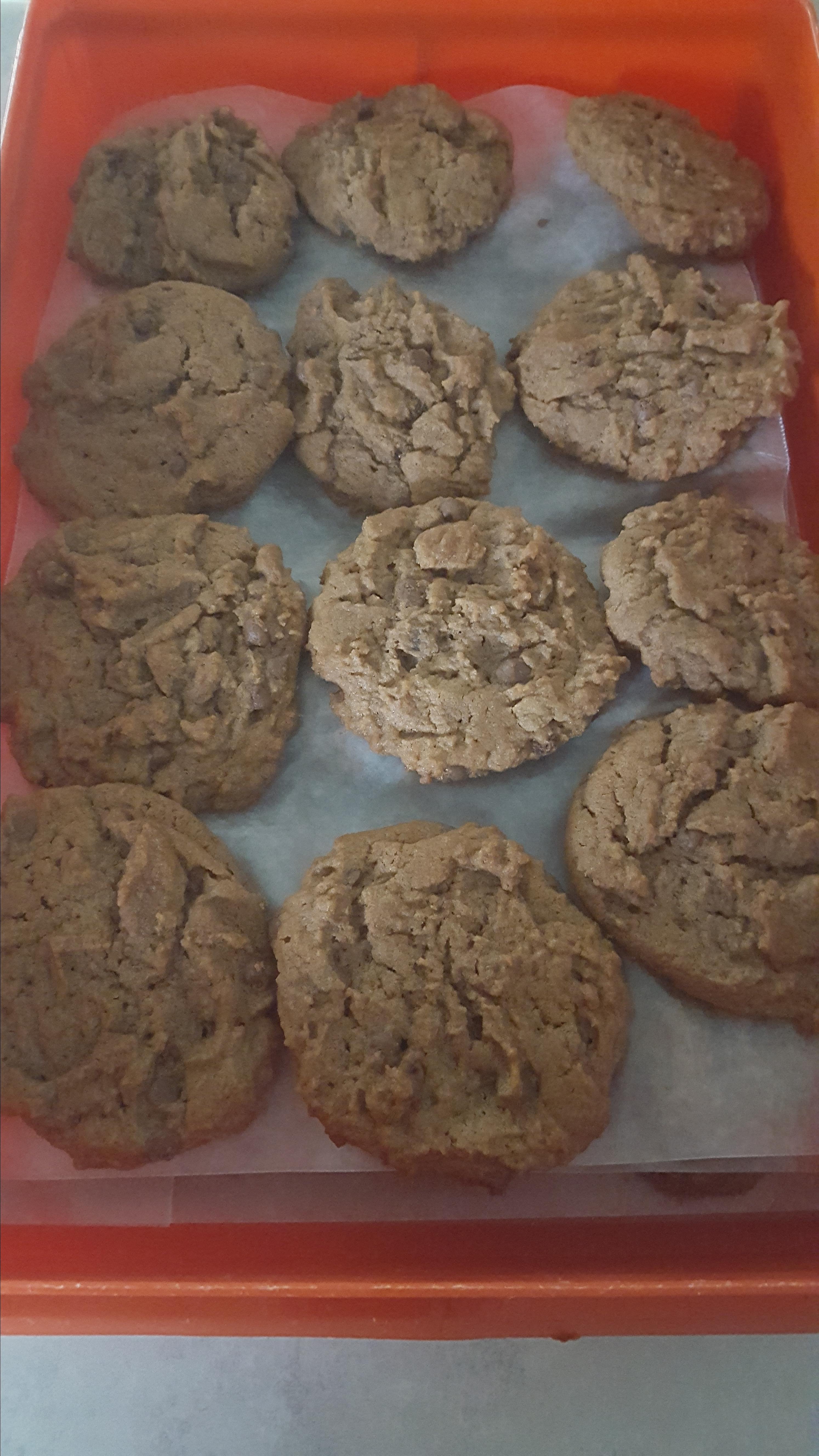 Yummy Chocolate Peanut Butter Cookies image