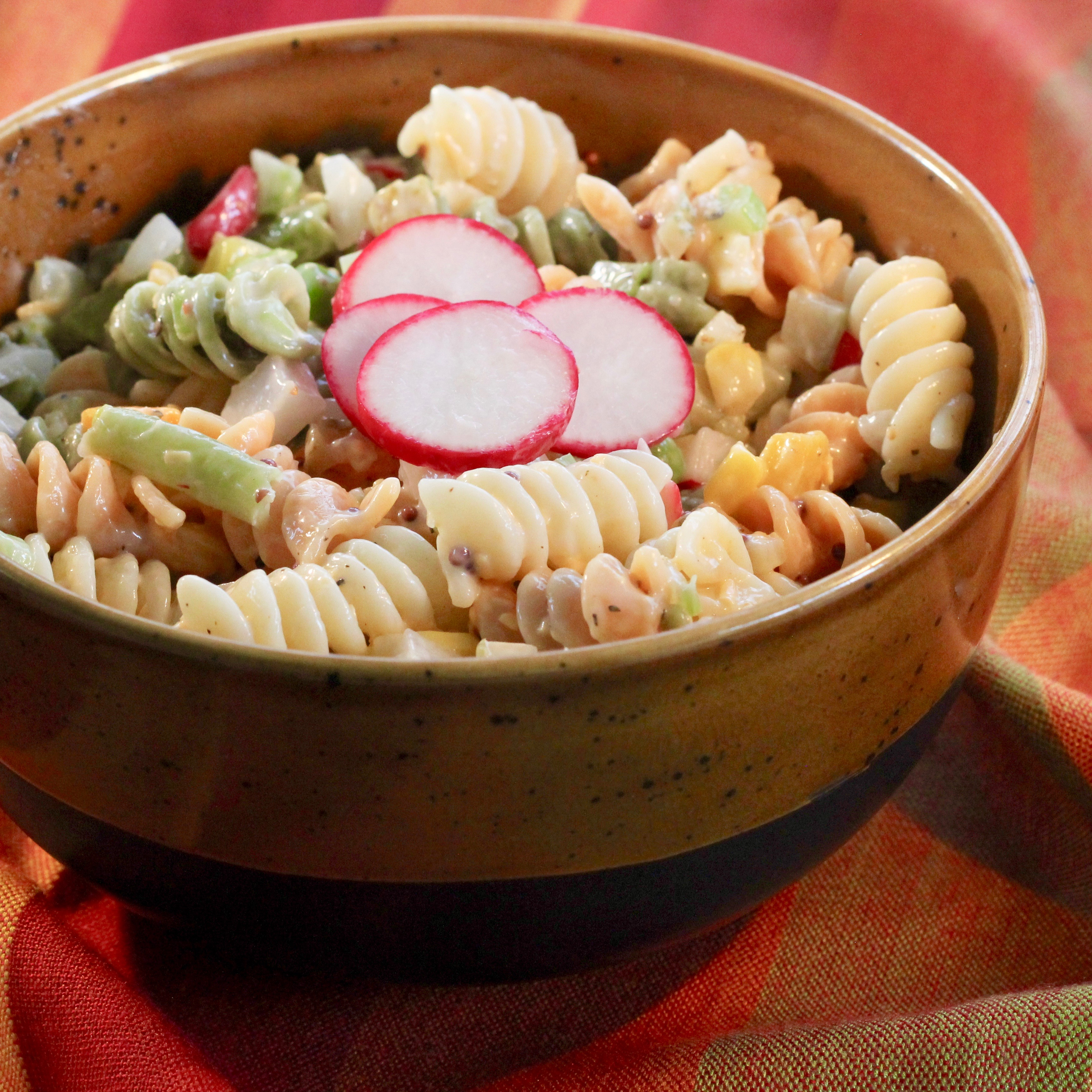 Fiesta Pasta Salad with Dill Pickles image