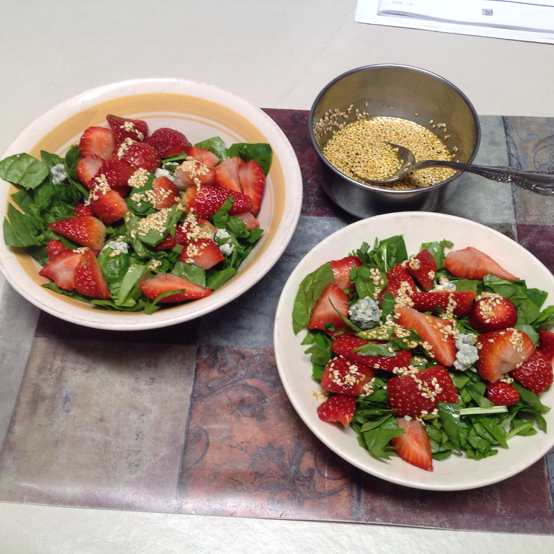 Strawberry Spinach Salad II