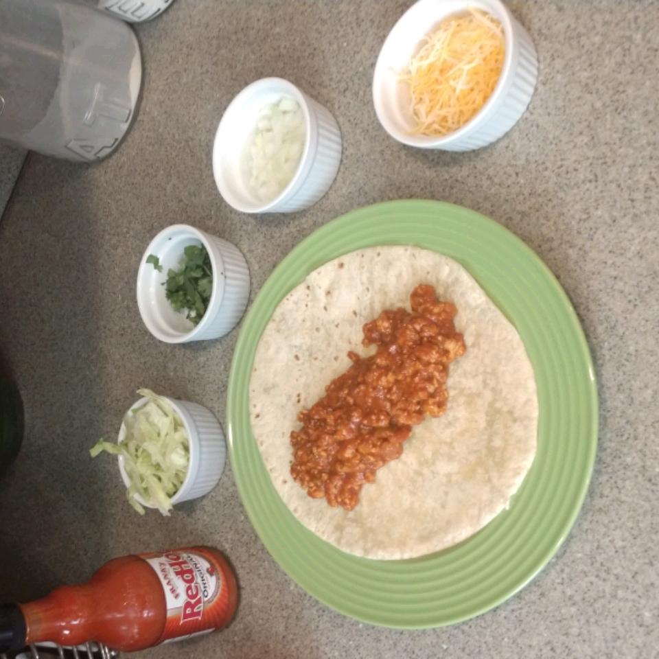 Salsa Chicken Burrito Filling Kahley Ann Neafus