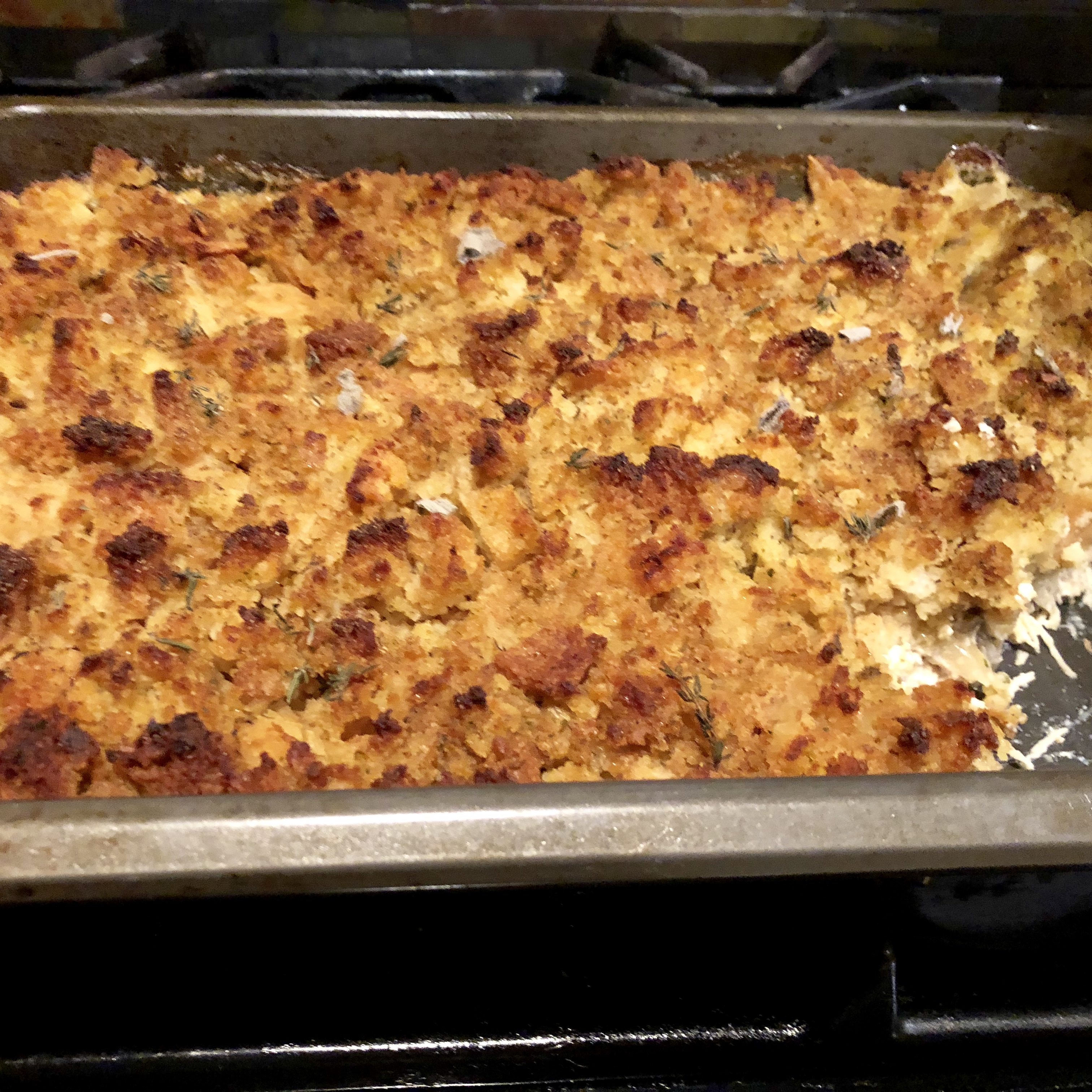 Rotisserie Chicken and Stuffing Casserole mary