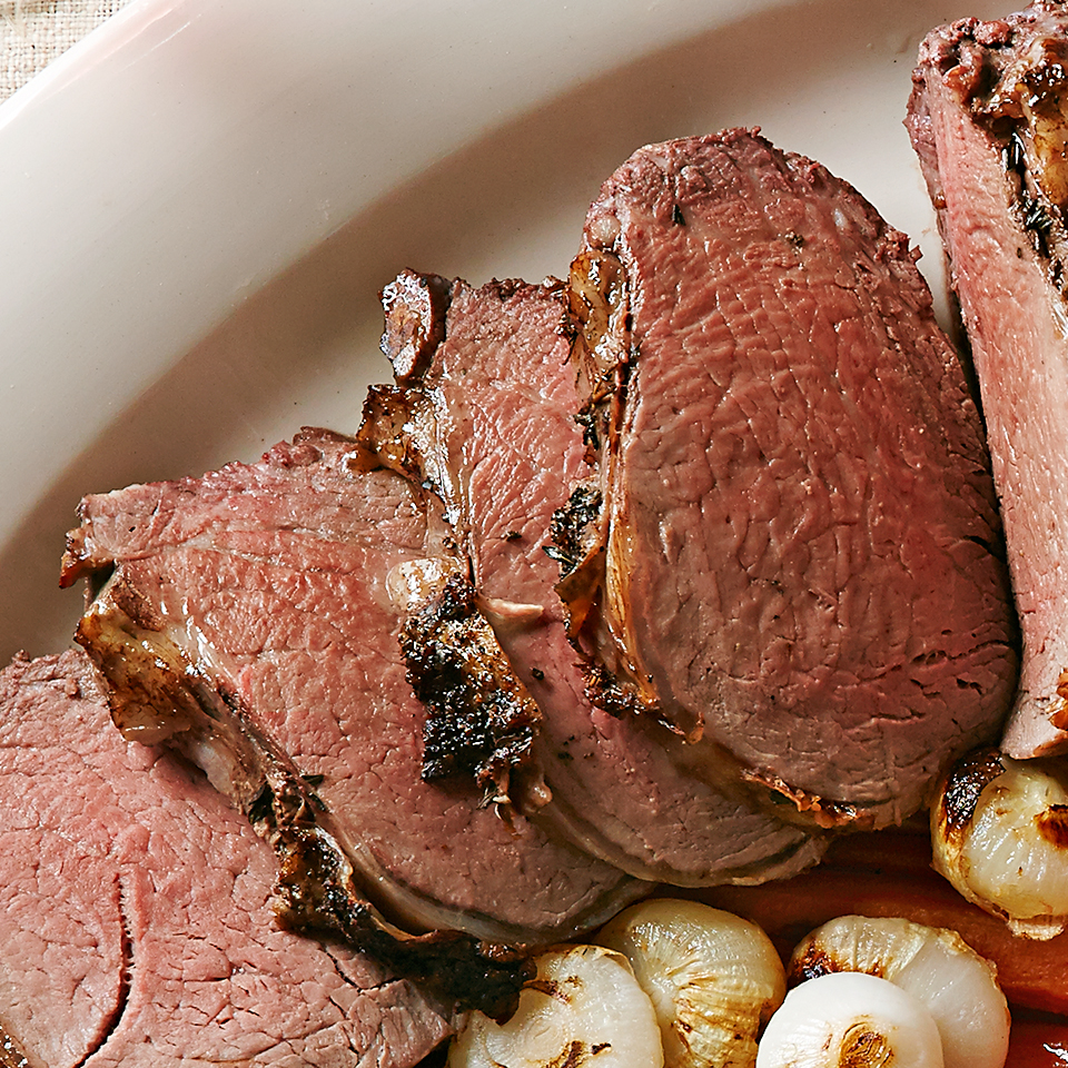 Mushroom & Thyme Roasted Beef Tenderloin Diabetic Living Magazine